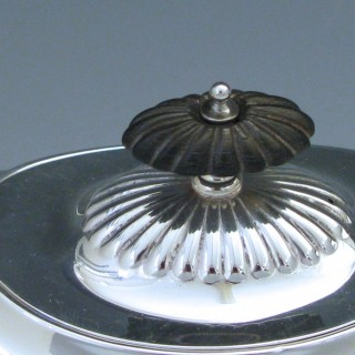 Sterling Silver Edwardian Tea Pot  1910