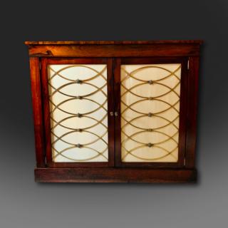 Fine Regency Rosewood Cabinet C1825