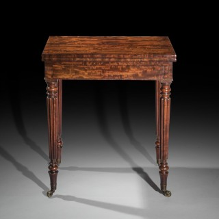 Small Regency Card Table, Attributed to Gillows