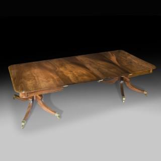 Regency Two Pedestal Dining Table