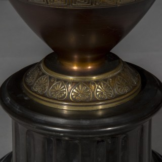 Grand Tour Bronze Vase Table Lamp