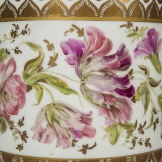 Massive Antique Porcelain Vase Table Lamp
