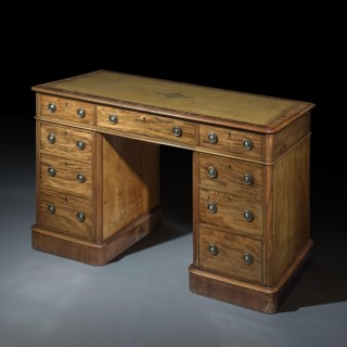 George IV Mahogany Desk or Library Table