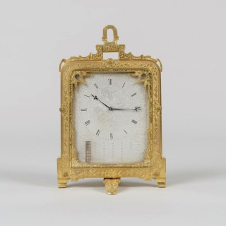 A Very Early Strut Clock By Thomas Cole