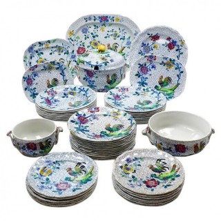 Fifty-Piece Copeland Spode