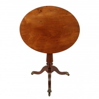 Regency Gillows Design Tripod Table