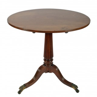 Regency Gillows Design Tripod Table