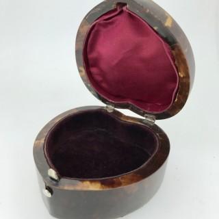 Tortoiseshell Heart Box