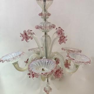 Vintage Venetian Chandelier