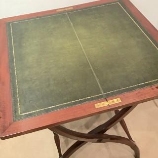 Edwardian Folding Writing Table