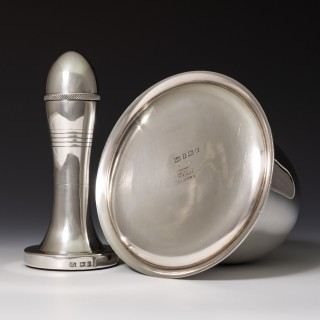 Sterling Silver Bell Cocktail Shaker