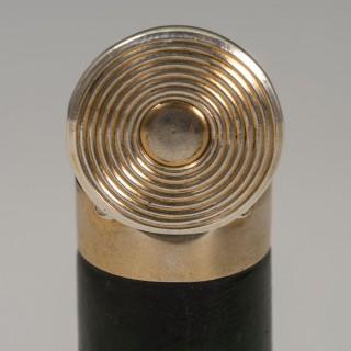Silver Shotgun Cartridge Vesta Case/ Match Safe