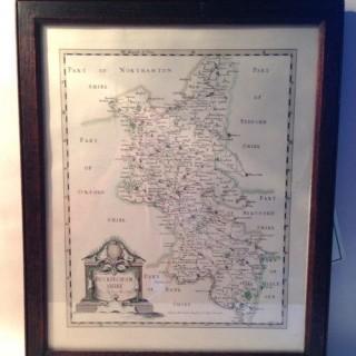 Antique Map of Buckinghanshire.