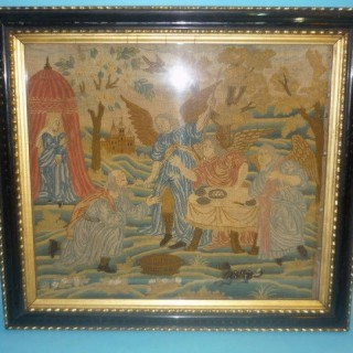 Antique Late Seventeenth Century Needlework.