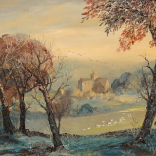 The Cartmel Valley; Evening