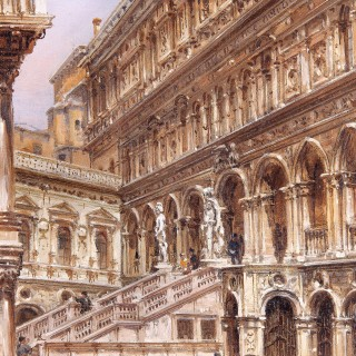 The Staircase of the Giants, Venice