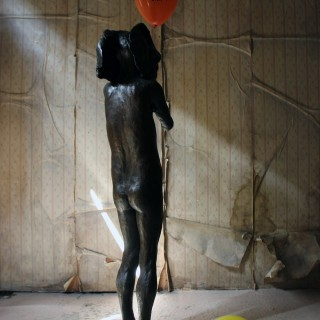 Beth Carter; Standing Elephant; Bronze Resin; 2014; Edition 2 of 15