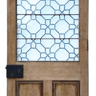 A Reclaimed Antique Astral Glazed Door