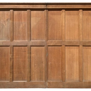 Reclaimed English Oak Wall Panelling 4.6 m ( 15 ft )
