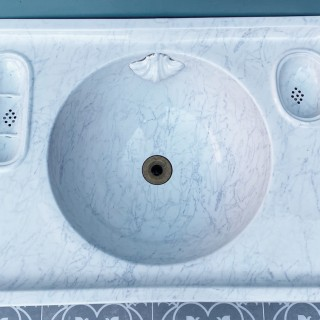 An Antique English Wash Basin or Sink