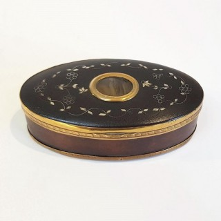 Antique Tortoiseshell Snuff Box