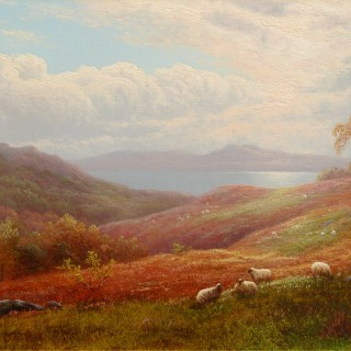 Windermere Lake from the Hills, Ambleside