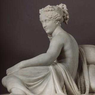 Grand Tour Model of Pauline Bonaparte Borghese As Venus Victrix