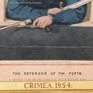 Defender Of The Porte, Crimea Lithograph