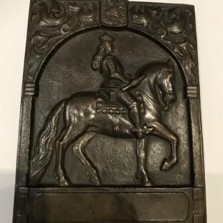 Johann Wilhelm 11 Bronze Plaque