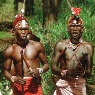 Dancing Samburu Warriors