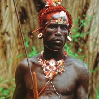 Samburu Warrior Portrait