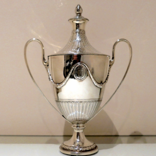 18th Century Antique George III Sterling Silver Cup & Cover London 1782 Benjamin Laver