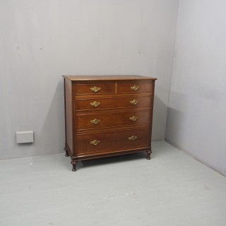 Mahogany Chest of Drawers in Style of Morison & Co