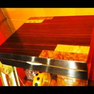 Art Deco Period Macassar Ebony & Exotic Woods veneered Box