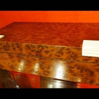 Art Deco Period Amboyna Box