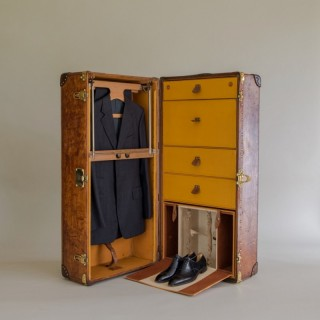 Louis Vuitton Leather Wardrobe Trunk