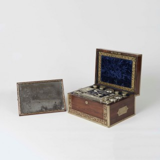 A George IV Dressing Case By J. Corfield
