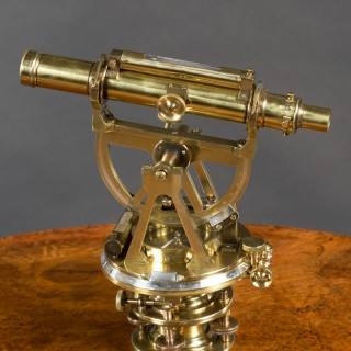19th Century Brass Theodolite by  S.P Cohen, Glasgow