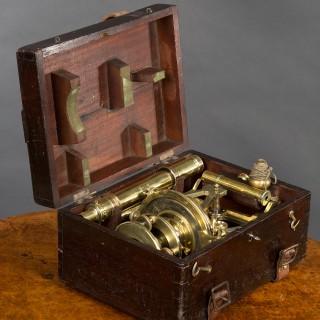 19th Century Brass Theodolite by  S.P Cohen, Glasgow