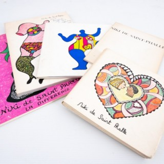 Group of Niki de Sainte Phalle books