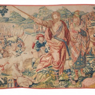 17th century fine tapestry of Bruxelles