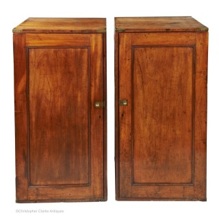Campaign Packing Case Pedestal  Cupboards