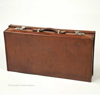 Cleghorn of Edinburgh Leather Suitcase