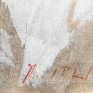 Nude/White Linen 2