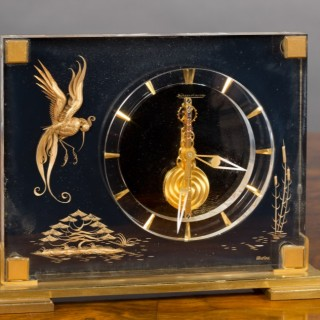 Jaeger Le Coultre Marina Mystery Clock