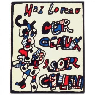 Jean Dubuffet , Cerceaux 'Sorcellent Limited Edition, 1967