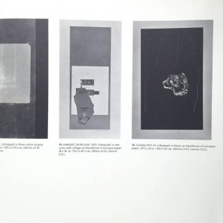 Robert Motherwell, Selected Prints, 1961-1974 - signed by Motherwell 1975