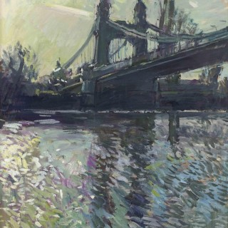 Hammersmith Bridge, Golden Light