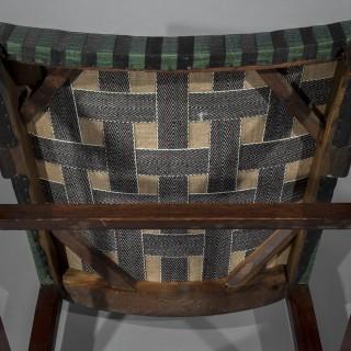 Pair of George III Open Armchairs