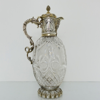 Silver Gilt Claret Jug London 1899 Mappin Brothers
